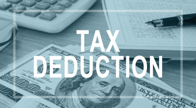 is buying a car tax deductible